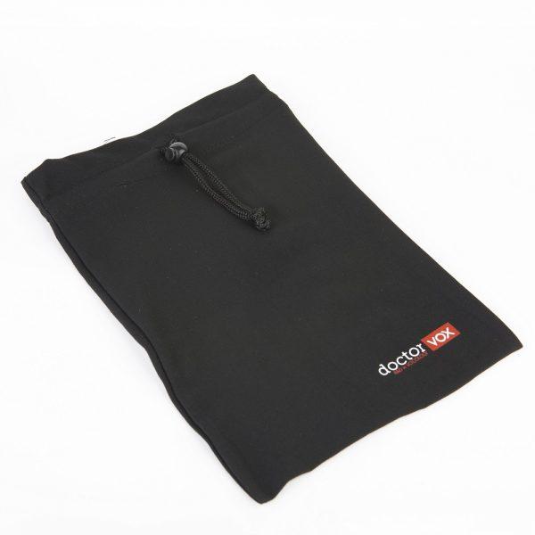 linen pouch for pocketVOX, maskVOX and the bottle for pocketVOX